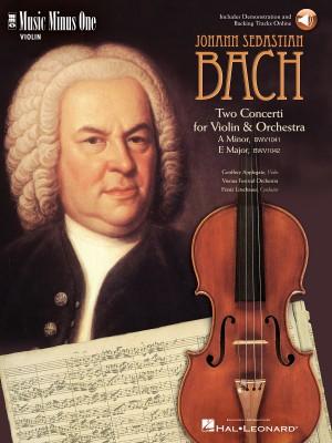 Music Minus One - J.S. Bach: Violin Concerto No.1 In A Minor BWV1041&#x3B; Violin Concerto No.2 In E BWV1042