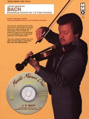 Music Minus One - J.S. Bach: Brandenburg Concerto No.2&#x3B; 'Triple' Concerto In A Minor BWV1044