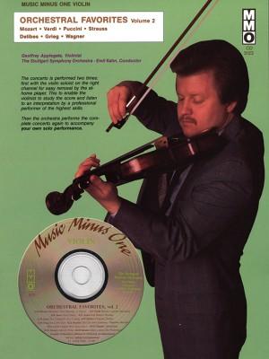 Music Minus One - Orchestral Favorites Vol. II (Intermediate Level)