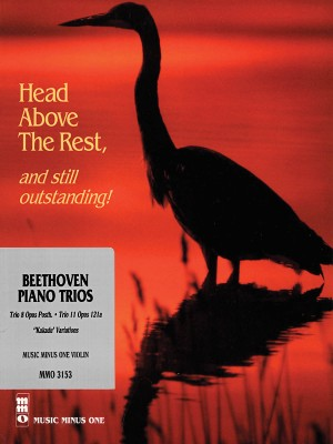 Music Minus One - Ludwig Van Beethoven: Piano Trio No.8 In E-Flat And No.11 In G Major Op.121a