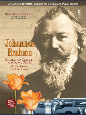 Music Minus One - Johannes Brahms: Sonatas In F Minor And E-Flat Op.120