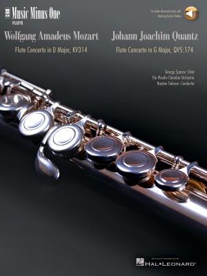 Music Minus One - W.A. Mozart: Flute Concerto No.2 In D KV314&#x3B; Johann Quantz: Flute Concerto In G