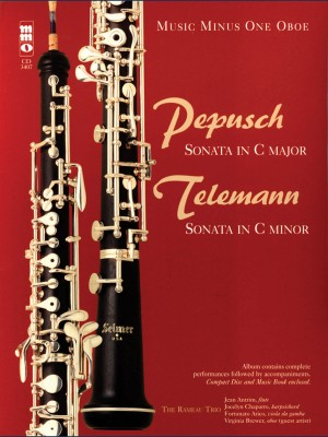 Music Minus One - Johann Christoph Pepusch: Trio Sonata In C&#x3B; Georg Philipp Telemann: Trio Sonata In C Minor