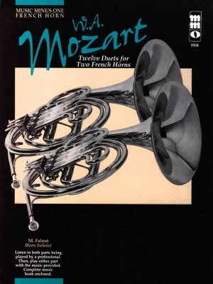 Music Minus One - W.A. Mozart: Twelve Pieces For Two Horns KV487