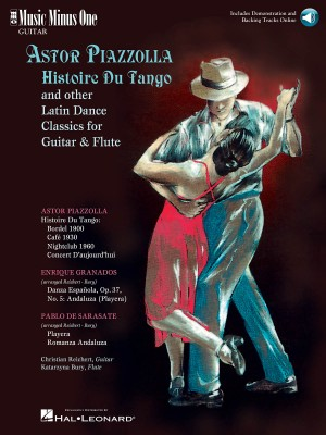 Music Minus One - Astor Piazzolla: Histoire Du Tango And Other Latin Classics For Guitar And Flute