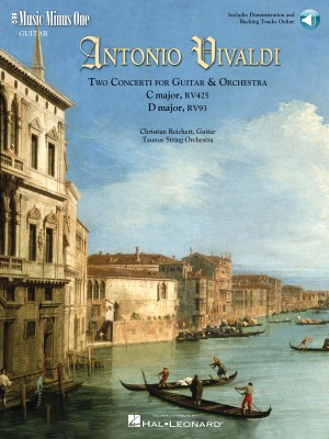 Music Minus One - Antonio Vivaldi: Two Concerti For Guitar (Lute) And Orchestra In C/D