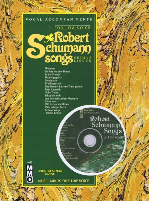 Music Minus One - Robert Schumann: German Lieder For Low Voice