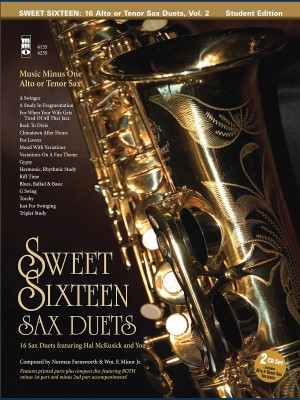 Music Minus One - Sweet Sixteen Sax Duets