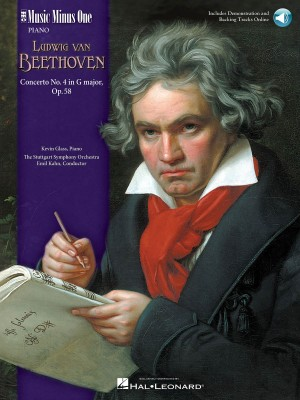 Beethoven: Piano Concerto No.4 In G Op.58 (Book/CD)