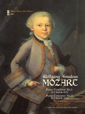Music Minus One - W.A. Mozart: Concerto No.1 In F KV37&#x3B; Concerto No.3 In D KV40