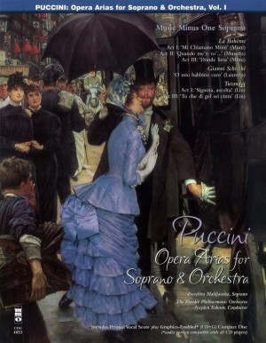 Music Minus One - Giacomo Puccini: Arias For Soprano With Orchestra Vol.I