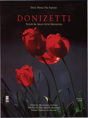 Music Minus One - Gaetano Donizetti: Soprano Arias with Orchestra