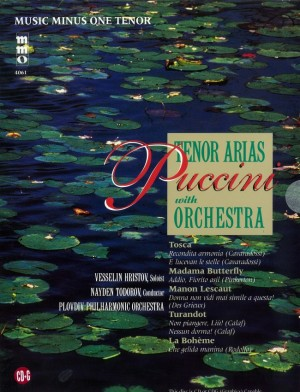 Music Minus One - Giacomo Puccini: Arias For Tenor And Orchestra Vol.I
