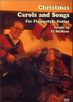 Christmas Carols And Songs For Fingerstyle Guitar DVD