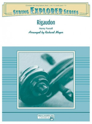 Henry Purcell: Rigaudon