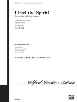 Nancy Price: I Feel the Spirit! 2-Part (any combination) (with Opt. Descant)