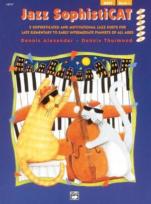Dennis Alexander/Dennis Thurmond: Jazz SophistiCat, Duet Book 1