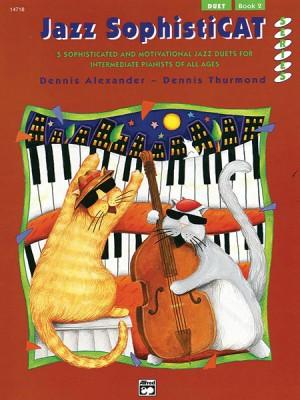 Dennis Alexander/Dennis Thurmond: Jazz SophistiCat, Duet Book 2
