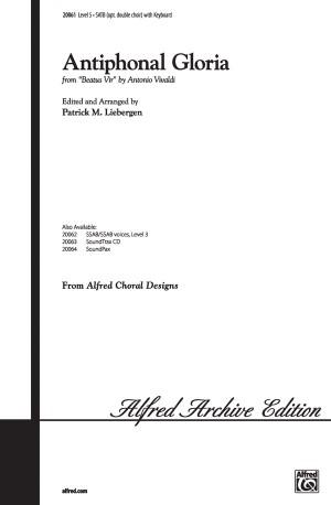 Antonio Vivaldi: Antiphonal Gloria SATB (Opt. Double Choir)