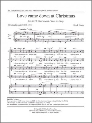 Derek Healey: Love came down at Christmas Product Image