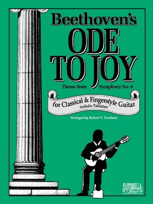Beethoven Ode To Joy Class/Fingerstyle Guitar Tab