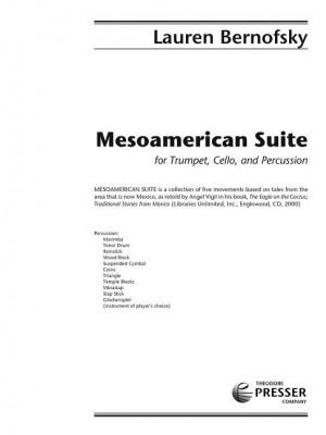 Lauren Bernofsky: Mesoamerican Suite
