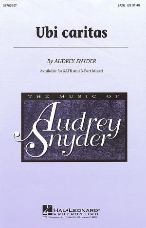 Audrey Snyder: Ubi Caritas