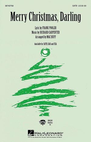 Frank Pooler_Richard Carpenter: Merry Christmas Darling