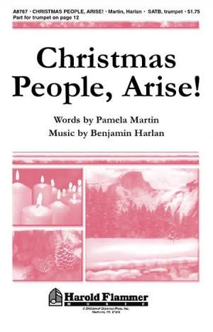 Benjamin Harlan_Pamela Martin: Christmas People, Arise!