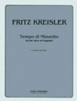 Fritz Kreisler: Tempo Di Minuetto (In The Style Of Pugnani)