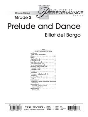Elliot Del Borgo: Prelude and Dance