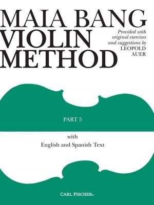 Maia Bang Violin Method Part Five