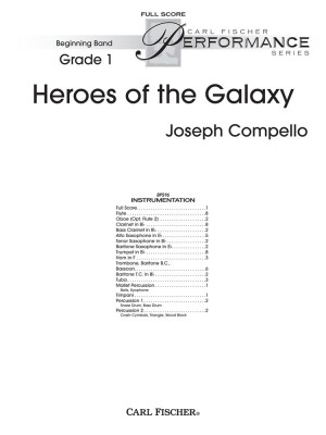 Joseph Compello: Heroes Of The Galaxy