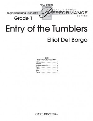 Elliot Del Borgo: Entry Of The Tumblers