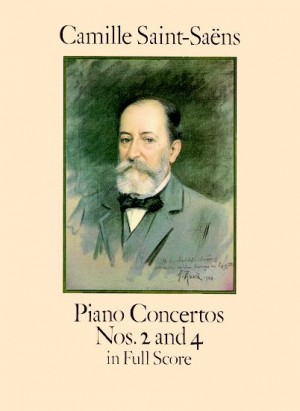 Camille Saint-Saëns: Piano Concertos Nos. 2 And 4 In Full Score