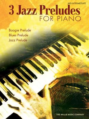 William Gillock: Three Jazz Preludes