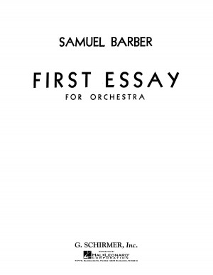Samuel Barber: First Essay For Orchestra Op.12 (Study Score)
