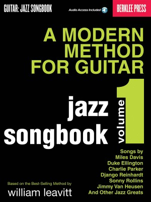 Larry Baione: A Modern Method for Guitar - Jazz Songbook, Vol 1