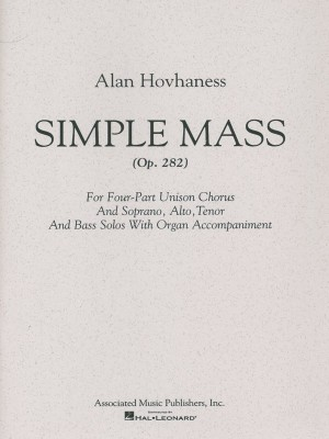 Alan Hovhaness: Simple Mass