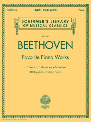 Ludwig van Beethoven: Favourite Piano Works