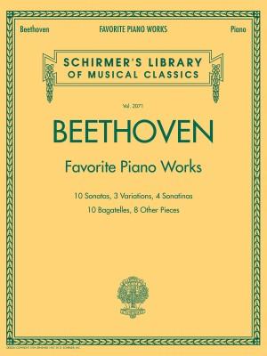 Ludwig van Beethoven: Favourite Piano Works