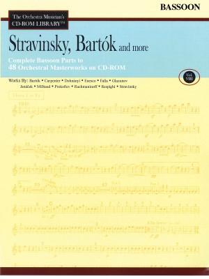 Béla Bartók_Igor Stravinsky: Stravinsky, Bartók and More - Vol. 8-Bassoon