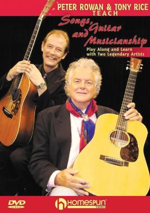 Tony Rice: Teach Songs Guitar And Musicianship (DVD)