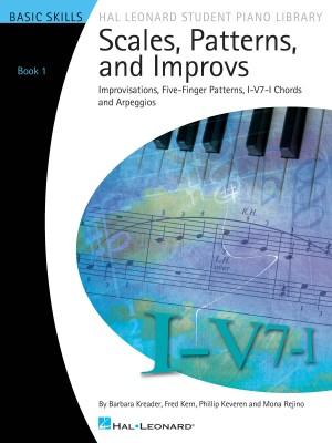 Scales, Patterns And Improvs: Book 1