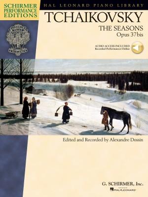 Pyotr Ilyich Tchaikovsky: The Seasons Op.37bis (Book/Online Audio)