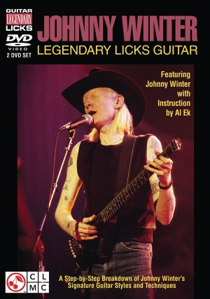 Johnny Winter - Legendary Licks Guitar