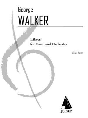 George Walker: Lilacs