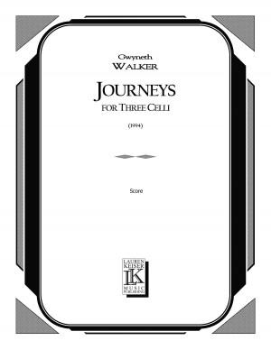Gwyneth Walker: Journeys for Three Celli