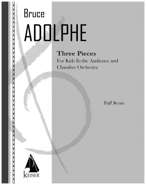 Bruce Adolphe: 3 Pieces