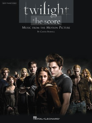 Carter Burwell: Twilight - The Score (Easy Piano)